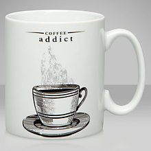 Buy Victoriana Coffee Addict Mug Online at johnlewis.com