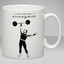 Buy Victoriana Strong Man Mug Online at johnlewis.com