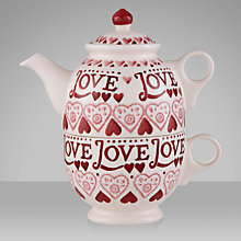 Buy Emma Bridgewater Sampler Tea for One Set, Red Online at johnlewis.com