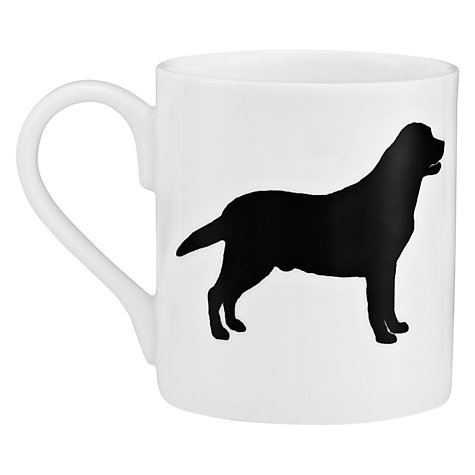 Buy Mclaggan Smith Black Labrador Mug, 0.3L Online at johnlewis.com