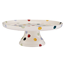 Buy Emma Bridgewater Polka Dot Cake Stand, Dia 27cm, Multi Online at johnlewis.com