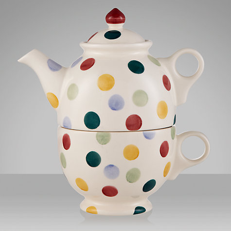 Buy Emma Bridgewater Polka Dot Tea for One Set, Multi Online at johnlewis.com
