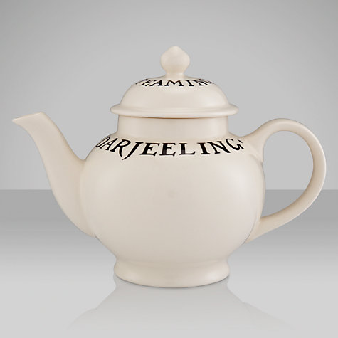 Buy Emma Bridgewater Black Toast Teapot, 1.4L Online at johnlewis.com