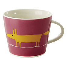 Buy Scion Mr Fox Mug, 0.35L, Pink Online at johnlewis.com