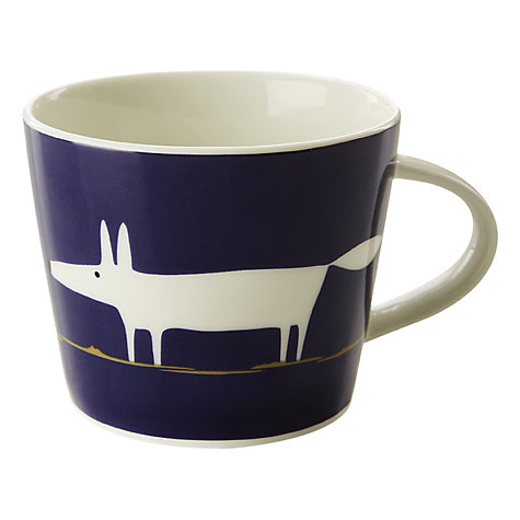 Buy Scion Mr Fox Mug, 0.35L, Indigo Online at johnlewis.com