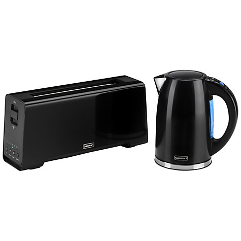 Buy Cuisinart CPK17BKU Multi-Temperature Kettle, Black Online at johnlewis.com