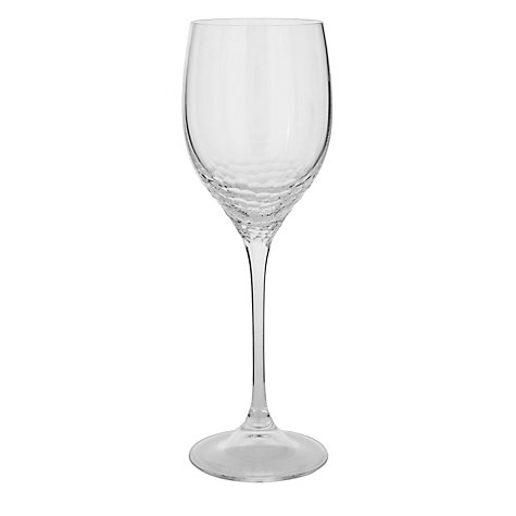 Buy Vera Wang for Wedgwood Sequin Wine Glasses, Set of 2 Online at johnlewis.com