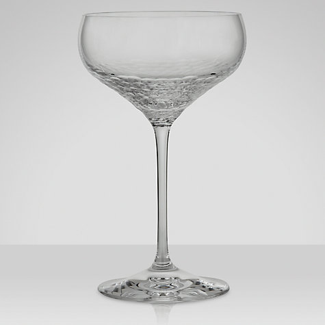 Buy Vera Wang for Wedgwood Sequin Champagne Saucer, Set of 2 Online at johnlewis.com