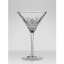 Buy Waterford Lismore Diamond Martini Glasses, Set of 2 Online at johnlewis.com
