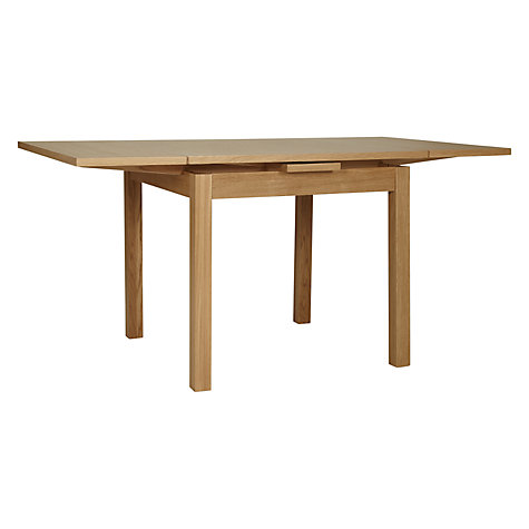 Buy John Lewis Lyon Square 4-6 Seater Extending Dining Table Online at johnlewis.com
