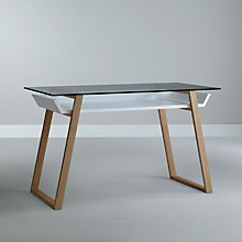 Buy House by John Lewis Airframe Desk Online at johnlewis.com