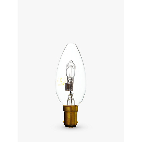 Buy Philips 42W SBC Eco Halogen Candle Bulb, Clear Online at johnlewis.com