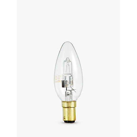 Buy Philips 28W SBC Eco Halogen Candle Bulb Online at johnlewis.com