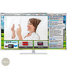 Buy Panasonic Viera TX-L47ET60B LED HD 1080p 3D Smart TV, 47 Inch with Freeview HD with 2x 3D Glasses Online at johnlewis.com