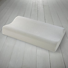 Buy John Lewis New Contoured Memory Foam Pillow Online at johnlewis.com
