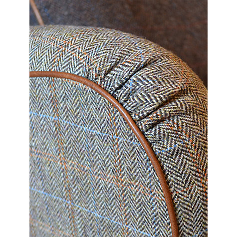 Buy Harris Tweed for John Lewis Lewis Petite Sofa, Bracken/Tan Online at johnlewis.com