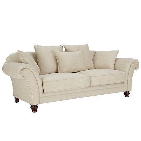 Buy John Lewis Richmond Grand Sofa with Dark Legs, Tyler Putty Online at johnlewis.com