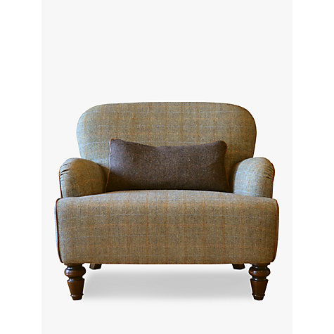 Buy Harris Tweed for John Lewis Lewis Armchair, Bracken / Tan Online at johnlewis.com