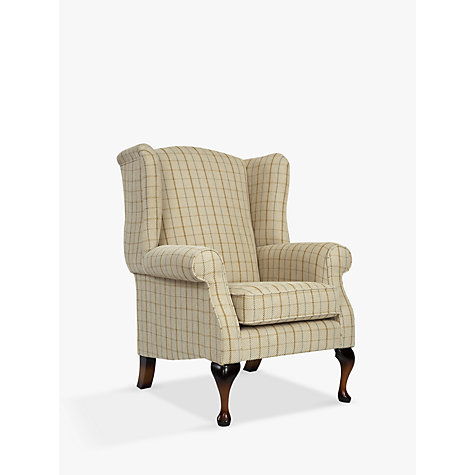 Buy Parker Knoll Oberon Armchair, Sandringham Check Online at johnlewis.com
