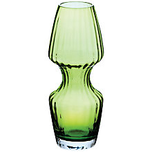 Buy Dartington Kindred Flared Vase, H24cm, Lime Online at johnlewis.com