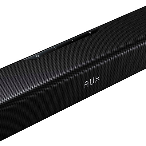 Buy Samsung HW-F550 2.1 Bluetooth Sound Bar with Wireless Subwoofer, Black Online at johnlewis.com