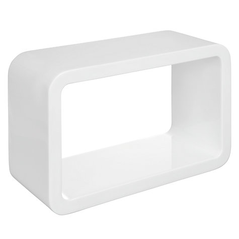 Buy House by John Lewis Mode Box Shelf Online at johnlewis.com