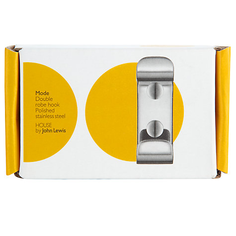 Buy House by John Lewis Mode Robe Hook Online at johnlewis.com