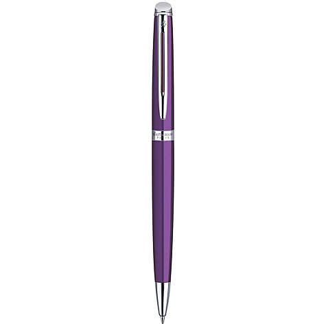 Buy Waterman Hemisphere Comet Ballpoint Pen, Purple Online at johnlewis.com