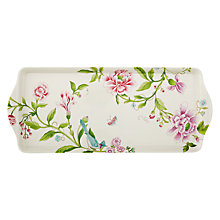 Buy Sanderson for Portmeirion Porcelain Garden Sandwich Tray Online at johnlewis.com