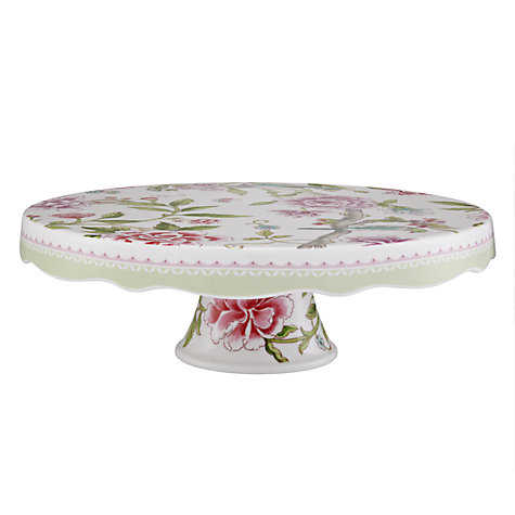 Buy Sanderson for Portmeirion Porcelain Garden Footed Cake Stand Online at johnlewis.com