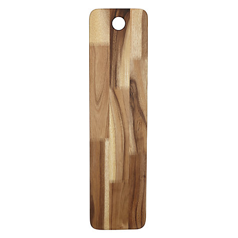 Buy John Lewis Italia Rustic Acacia Long Antipasti Board Online at johnlewis.com