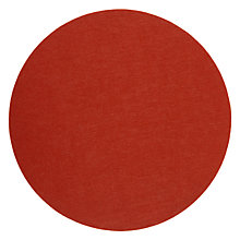 Buy House by John Lewis Felt Placemat, Dia.30cm , Red Online at johnlewis.com