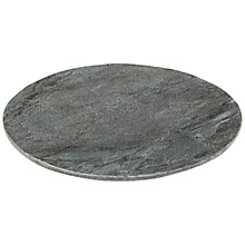 Buy Just Slate Round Server Online at johnlewis.com