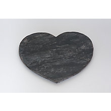 Buy Just Slate Silver Slate Heart Server Online at johnlewis.com