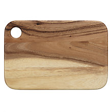Buy John Lewis Italia Rustic Acacia Serving Board Online at johnlewis.com