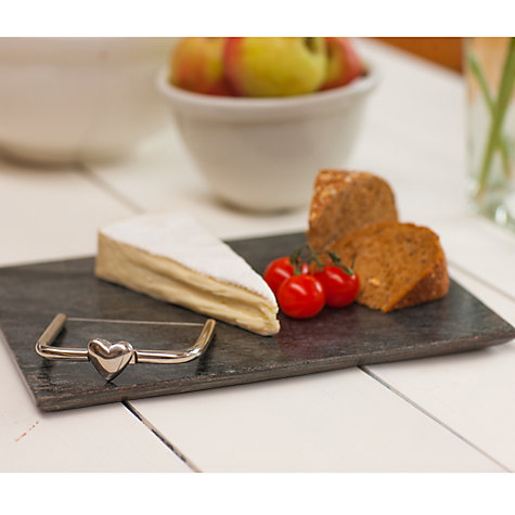 Buy Just Slate Heart Cheese Wire, Grey Online at johnlewis.com