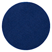 Buy House by John Lewis Felt Coaster, Blue Online at johnlewis.com