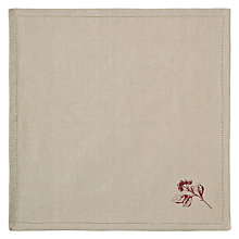 Buy John Lewis Rural Berries Napkin, Pack of 4, Natural Online at johnlewis.com