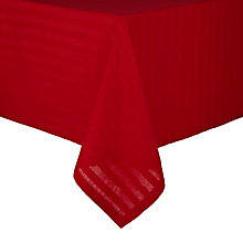 Buy John Lewis Sparkle Table Linen & Accessories, Red Online at johnlewis.com