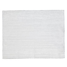 Buy John Lewis Sparkle Placemat, Set of 2, White/ Silver Online at johnlewis.com