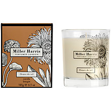 Buy Miller Harris Fleurs De Sel Scented Candle, 185g Online at johnlewis.com