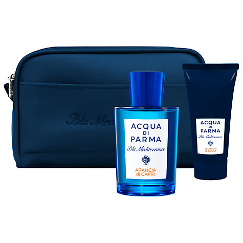 Buy Acqua di Parma Blu Meditarraneo Arancia Di Capri Limited Edition Travel Set Online at johnlewis.com