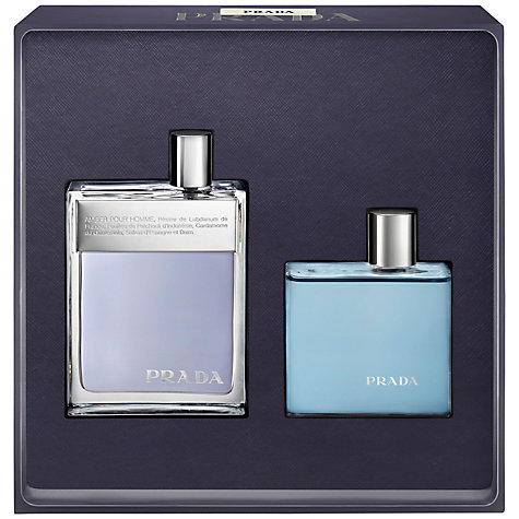 Buy Prada Amber Pour Homme Eau De Toilette and Shower Gel Gift Set Online at johnlewis.com