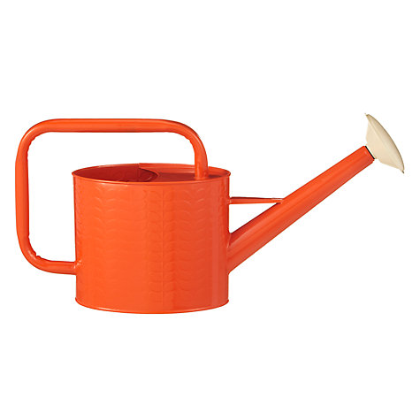Buy Orla Kiely Watering Can, Orange Online at johnlewis.com