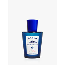 Buy Acqua di Parma Blu Mediterraneo Fico di Amalfi Shower Gel, 200ml Online at johnlewis.com