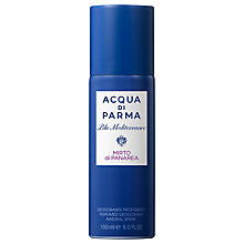 Buy Acqua di Parma Blu Mediterraneo Mirto di Panarea Deodorant Spray, 150ml Online at johnlewis.com