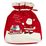 John Lewis Baby Christmas Sack, Red