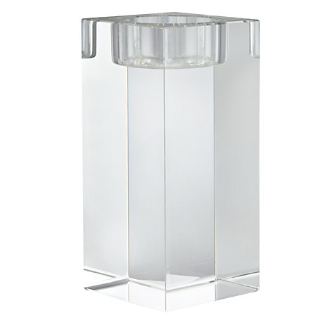 Buy John Lewis Column Tealight Holder, Large Online at johnlewis.com