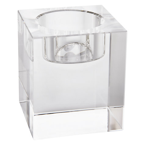 Buy John Lewis Column Tealight Holder, Small Online at johnlewis.com