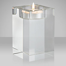 Buy John Lewis Column Tealight Holder, Medium Online at johnlewis.com